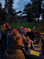 Dinner unter Sternen – A sunday in the country. Foto: AOEF